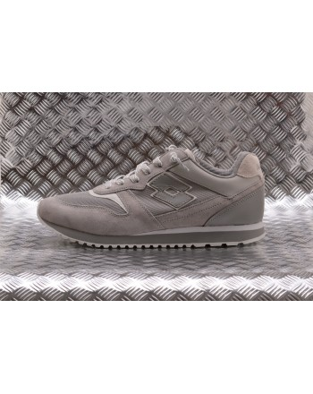 LOTTO LEGGENDA - Sneakers TOKIO GINZA in pelle - Cool/Grey/White