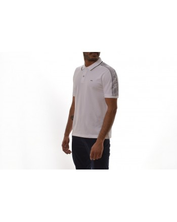 MICHAEL BY MICHAEL KORS -  Cotton Polo with Logo  - White