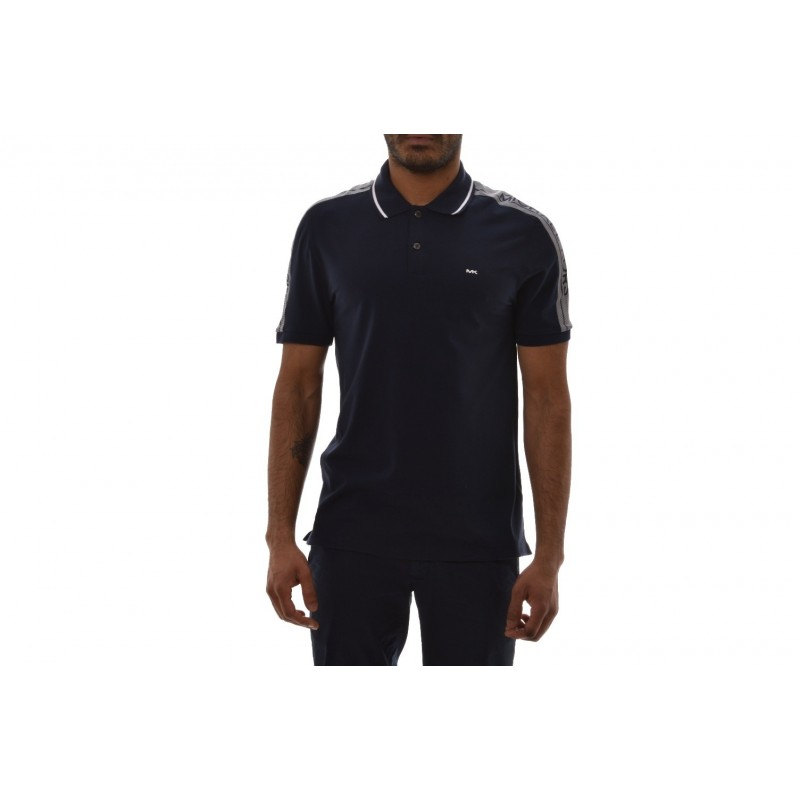MICHAEL BY MICHAEL KORS -  Polo in Cotone con Logo - Notte