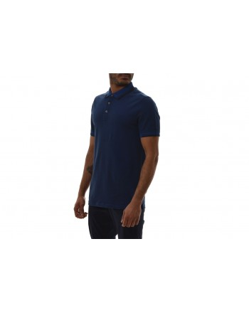 MICHAEL BY MICHAEL KORS - Polo in Cotone con Logo sul Colletto - Marine Blu