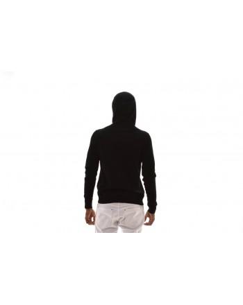 MICHAEL KORS - Cotton Sweatshirt with Hood - Black