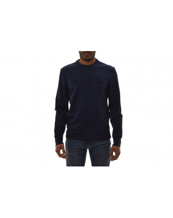 MICHAEL BY MICHAEL KORS - Maglia in Poly con Logo frontale - Notte