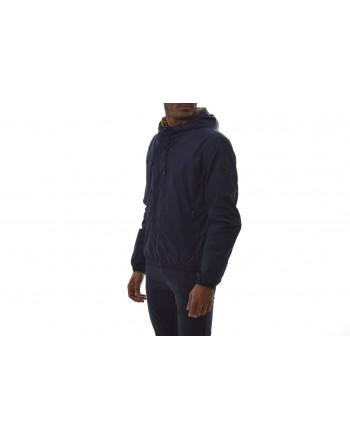 FAY - Tech Fabric Hood Jacket - Blue