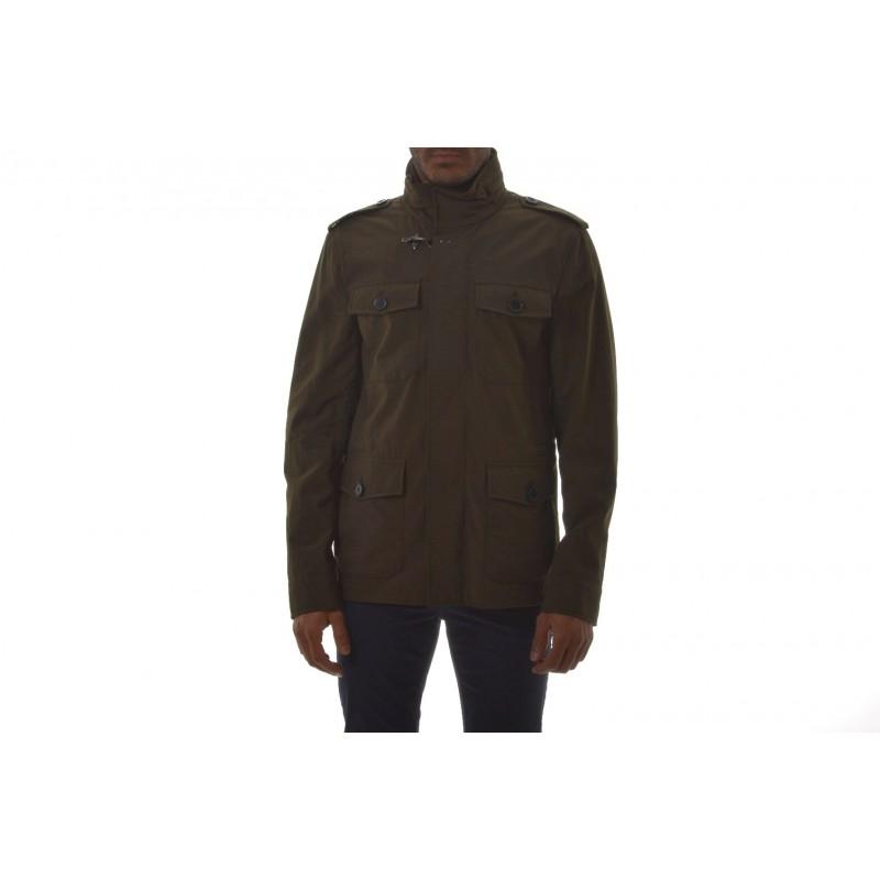 FAY -  SAFARI cotton jacket - Safari Brown