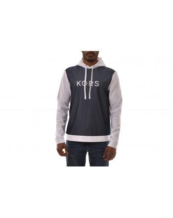 MICHAEL BY MICHAEL KORS -  Hooded cotton sweatshirt - White