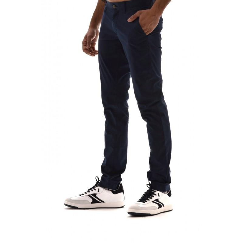 MICHAEL BY MICHAEL KORS - Cotton trousers - Dark blue