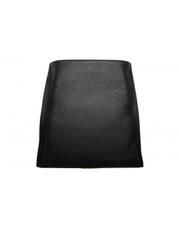 TOD'S - THEA BAG in pounded leather - Black