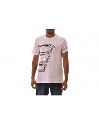 VERSACE COLLECTION - Cotton T-Shirt with LOGO printed - White