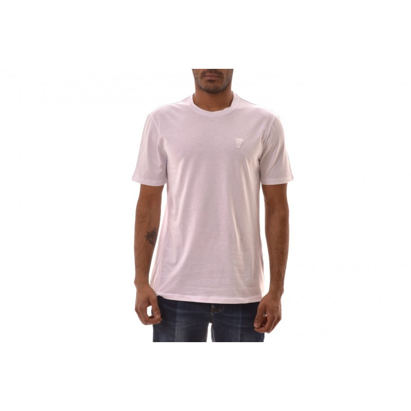 VERSACE COLLECTION - Cotton T-Shirt  - White
