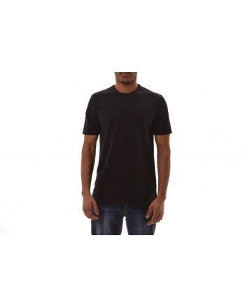 VERSACE COLLECTION - Cotton T-Shirt  - Black