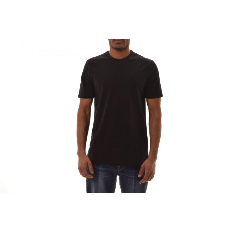 VERSACE COLLECTION - Cotton T-Shirt  - Black