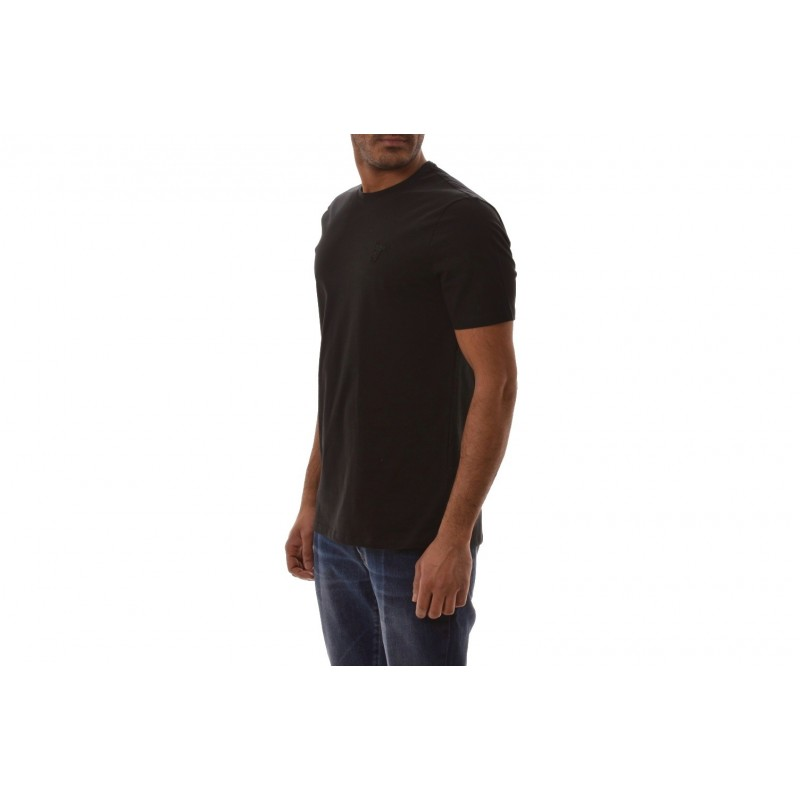 VERSACE COLLECTION - T-Shirt in cotone - Nero