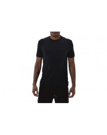 EMPORIO ARMANI - T-Shirt in Cotone - Blu