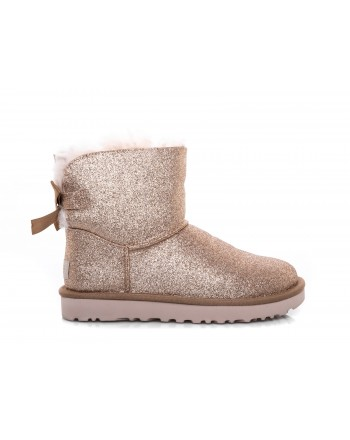 UGG - UGG - Boot Mini Bailey Bow SPARKLE - Sparkle Gold