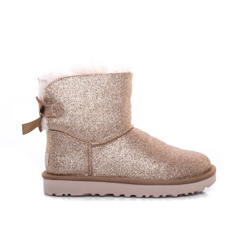 UGG - Stivale Mini Bailey Bow SPARKLE - Sparkle Gold