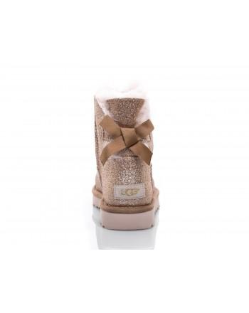 UGG - Stivale Mini Bailey Bow SPARKLE - Sparkle Gold
