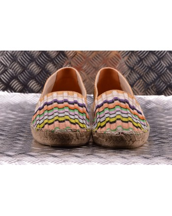 CASTANER -  Hemp Espadrillas KENDA MISSONI Patterned - Multicolor