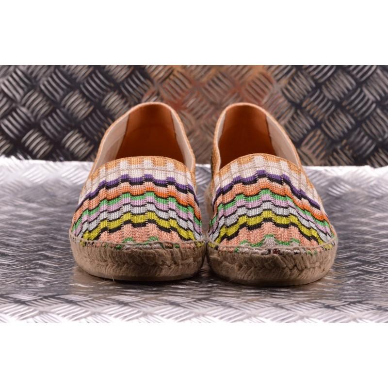 CASTANER -  Hemp Espadrillas KENDA MISSONI Patterned - Multicolor