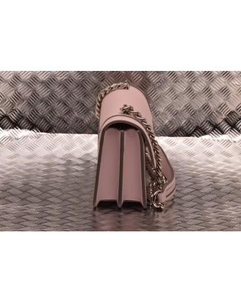 PINKO - Leather Bag MINI LOVE NEW - Light Pink