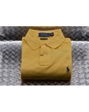 POLO RALPH LAUREN -  Custom Slim Cotton Polo Shirt - Fall Yellow