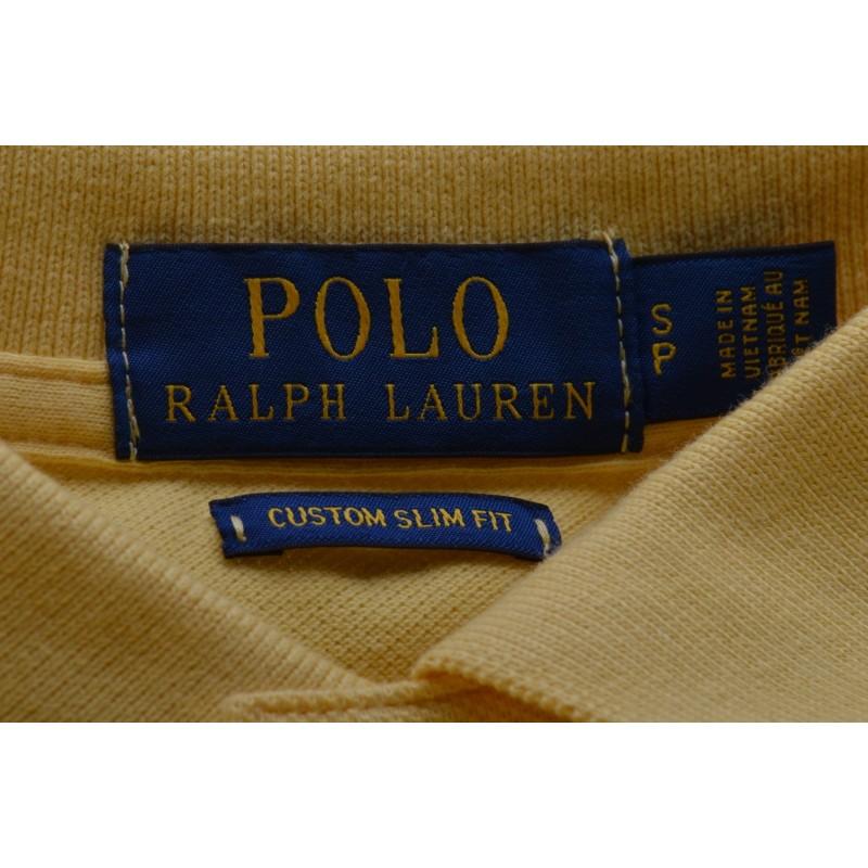 POLO RALPH LAUREN -  Polo Custom Slim Fit in Cotone - Fall Yellow