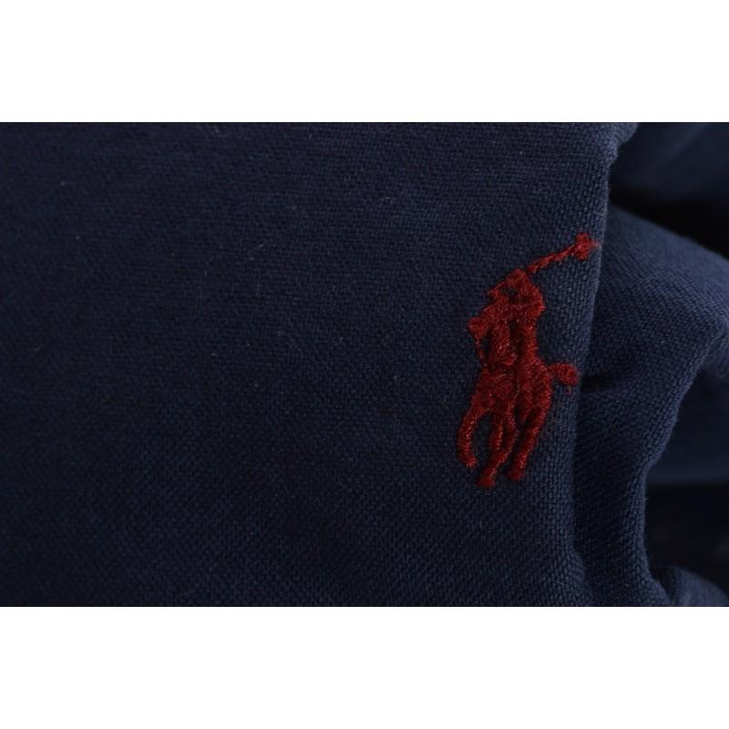 POLO RALPH LAUREN - Slim Fit cotton shirt - Navy