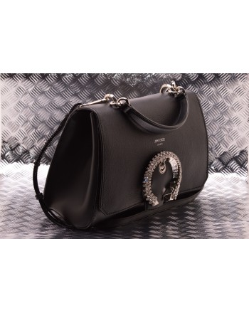 JIMMY CHOO - Borsa Top Handle MADELINE - Nero