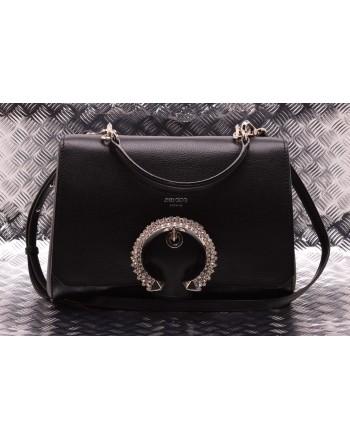JIMMY CHOO - MADELINE Top Handle Leather Bag