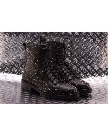JIMMY CHOO - CRUZ FLAT Boots - Black