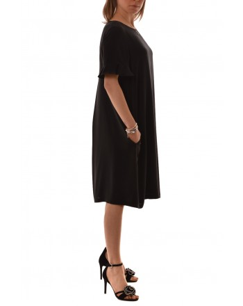MaxMara Studio - Silk dress - Black