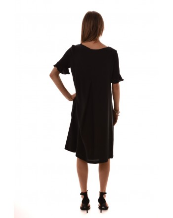 MaxMara Studio - Silk dress - Black