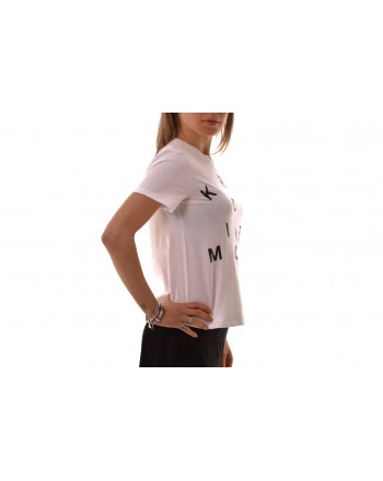 MICHAEL BY MICHAEL KORS - Cotton T-Shirt with print - White