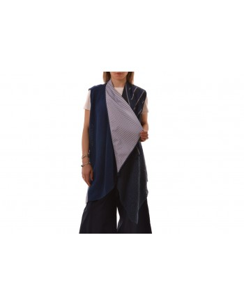ANTONIO MARRAS - Gilet in Lino - Rigato