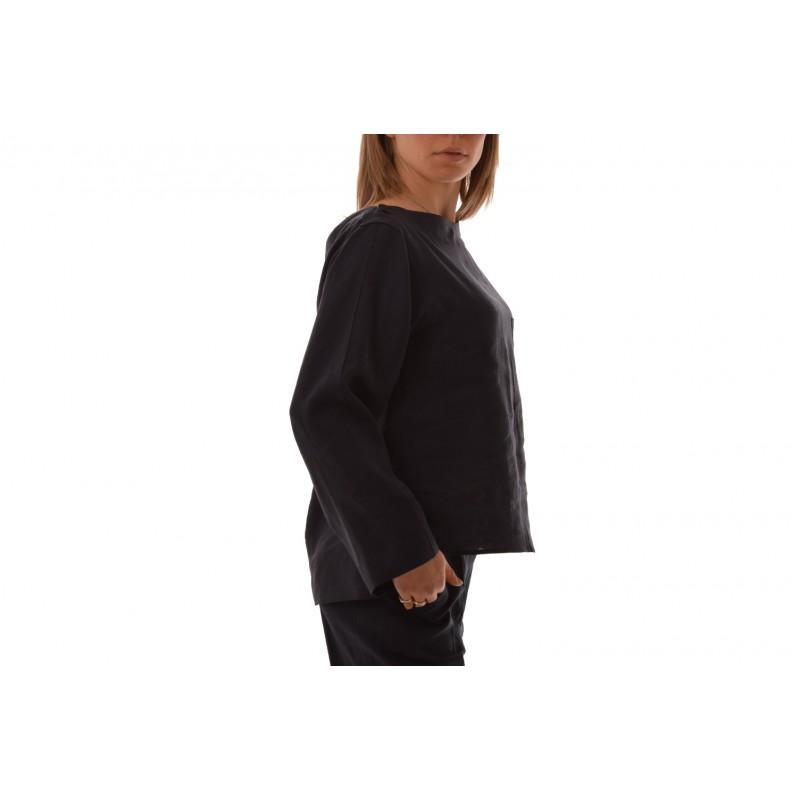 MaxMara - Linen jacket with pockets - Blue