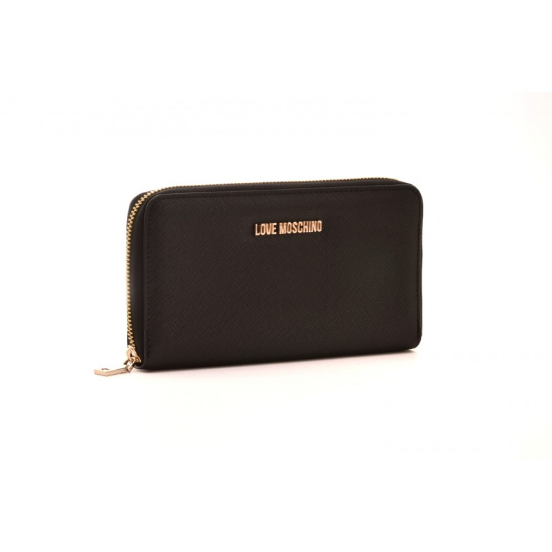 LOVE MOSCHINO - Zipper Purse - Black