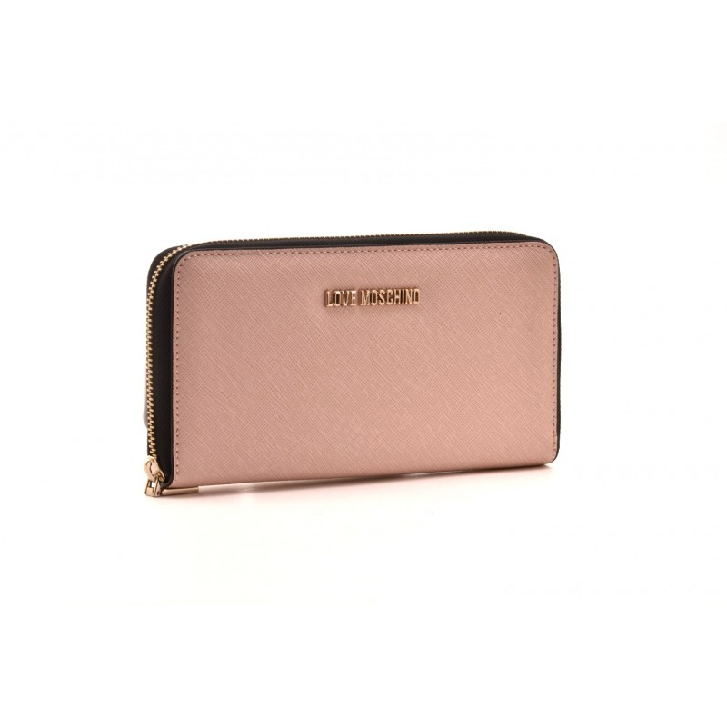 LOVE MOSCHINO - Zipper Purse - Pink
