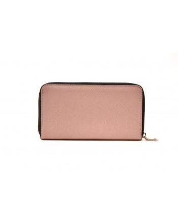 LOVE MOSCHINO - Zipper Purse - Pink