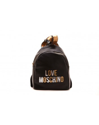 LOVE MOSCHINO - Zaino con stampa Logo in rilievo - Nero