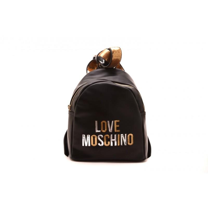 LOVE MOSCHINO - Zaino con stampa Logo in rilievo