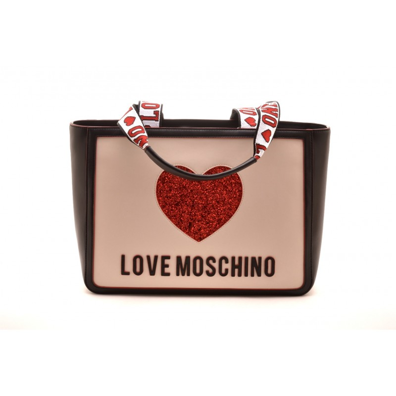 Borsa Love Moschino Bianco