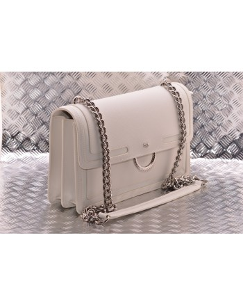 PINKO - Borsa  LOVE NEW in pelle - Bianco