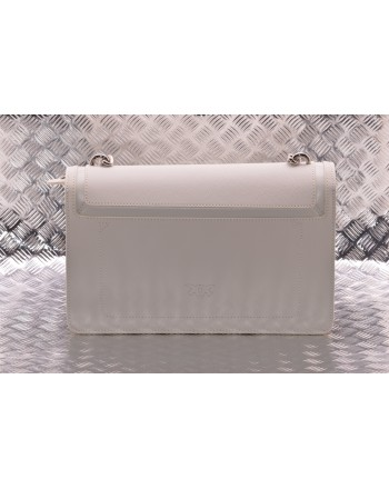 PINKO - LOVE NEW leather bag - White