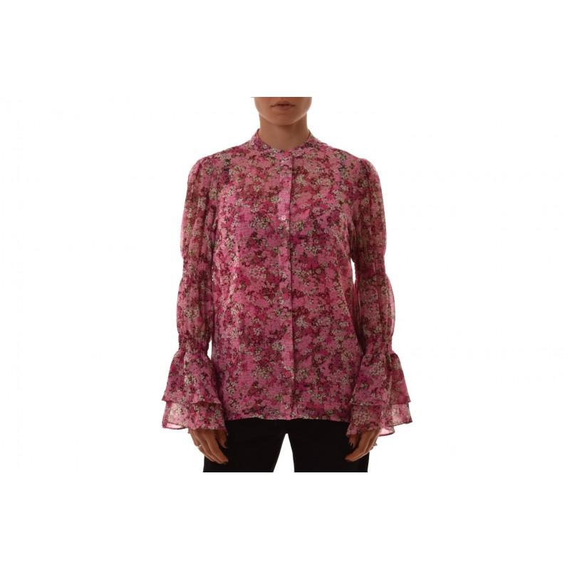 MICHAEL BY MICHAEL KORS - Camicia a balze con motivo floreale - Ibiscus