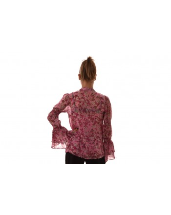 MICHAEL BY MICHAEL KORS - Flounced shirt with floral printed - Hibiscus