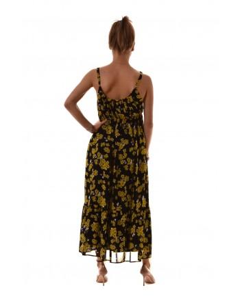 MICHAEL by MICHAEL KORS - GLAM PAINT Dress - Black Yellow