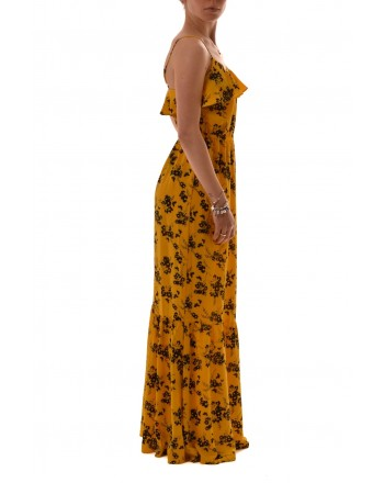 MICHAEL by MICHAEL KORS - BOTANICA Printed Dress - Yellow/Black