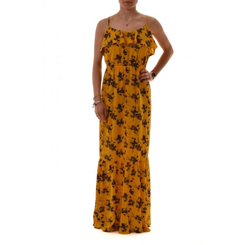 MICHAEL by MICHAEL KORS - BOTANICA Printed Dress - Yellow/Black