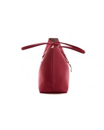TOD'S - Leather JOY BAG - Fuchsia