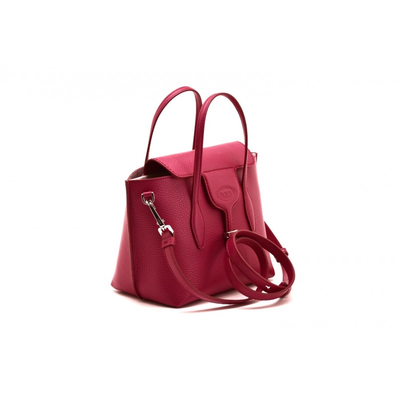 TOD'S - Borsa JOY Mini in Pelle - Fucsia