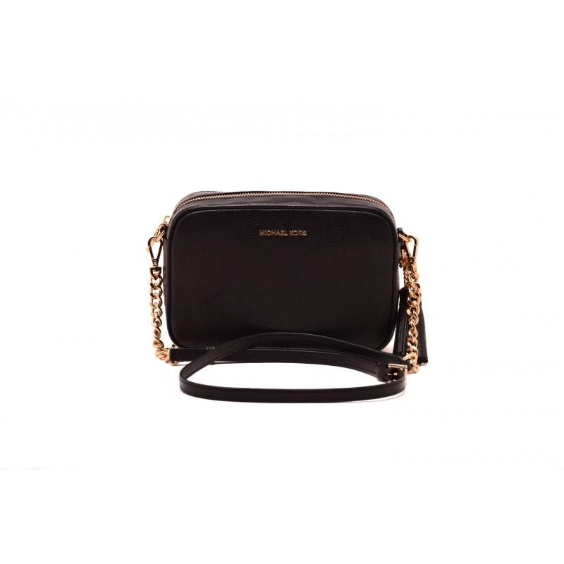 MICHAEL by MICHAEL KORS Leather CROSSBODIES Bag Black